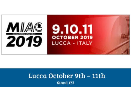 Miac Lucca 9 – 11 October 2019